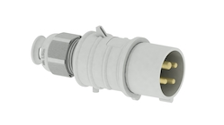 DC voltage plugs and sockets for industry