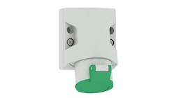 Surface-mounting socket outlet