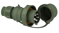 Plugs and sockets for military purposes